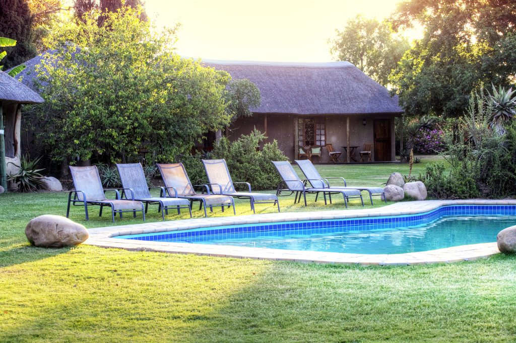 Addo Accommodation Pool Area