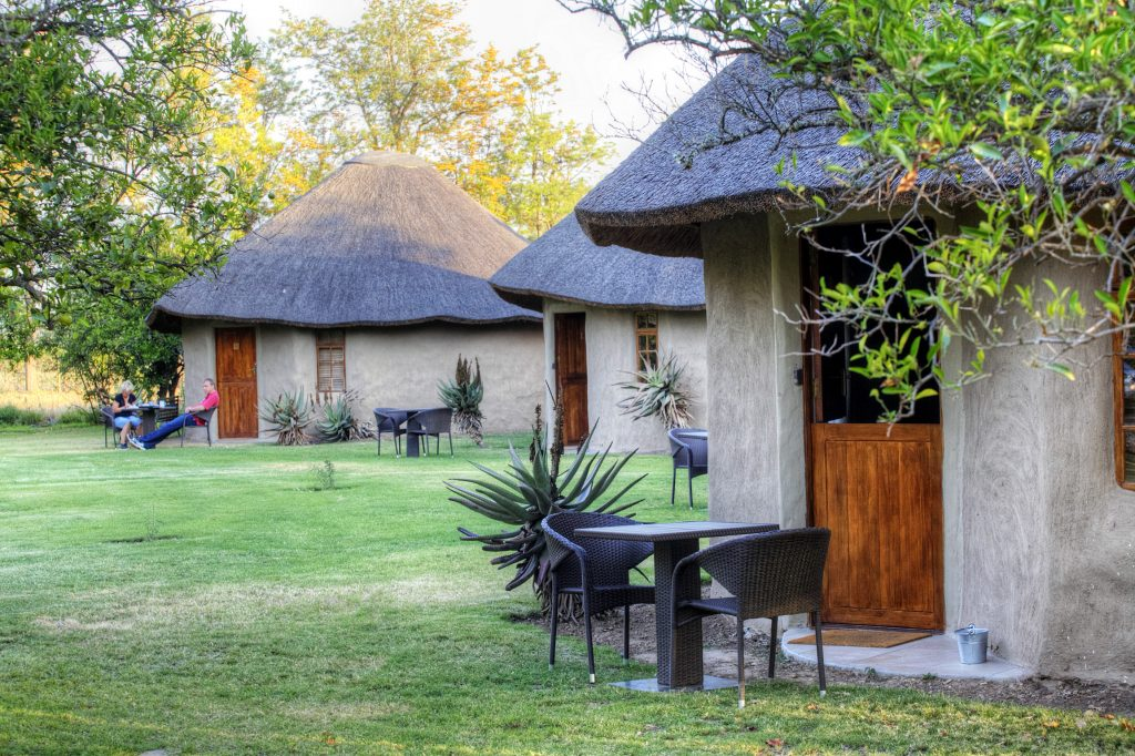 Addo Accommodation african style huts