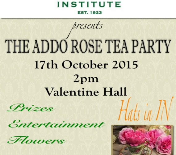 Addo Rose Tea 2015