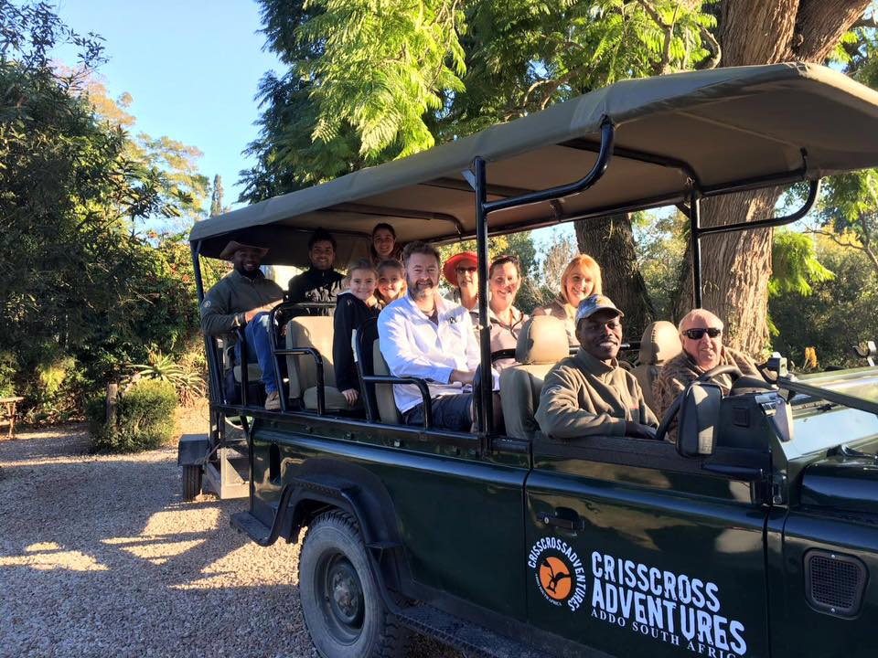 CrissCross Adventures Addo Elephant Game Drive for Chrislin Guest House