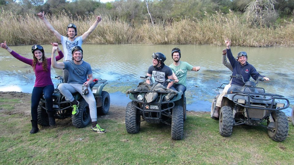 Addo quad biking