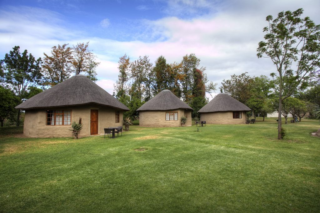 Addo Accommodation Orchard Huts Outside View