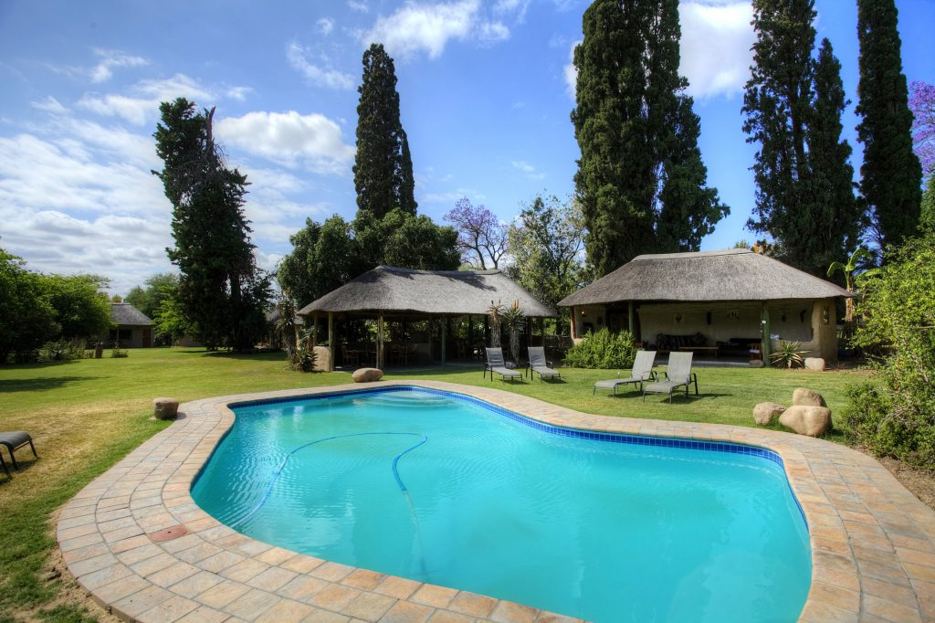 Addo Accommodation Pool Area 03