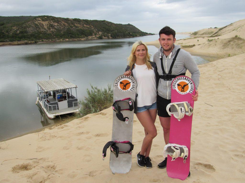 Sandboarding Addo South Africa