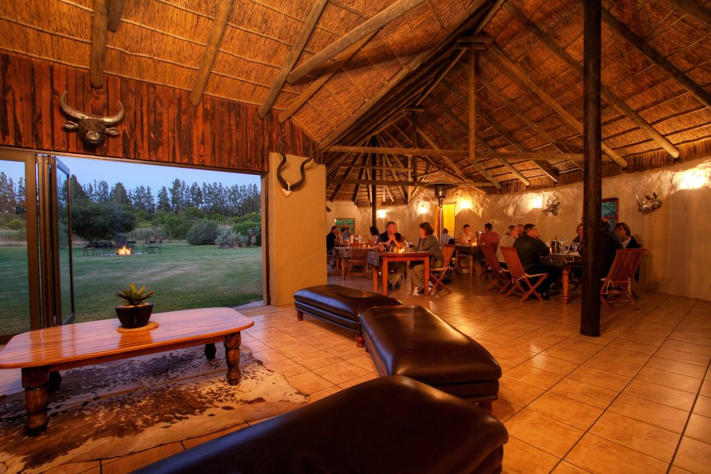 Guests Dining at Chrislin Lodge Addo