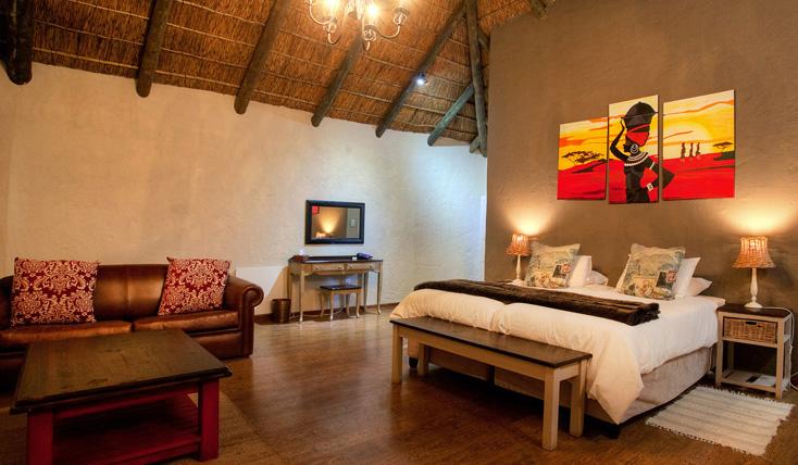 Addo Accommodation Sunset Hut Lounge