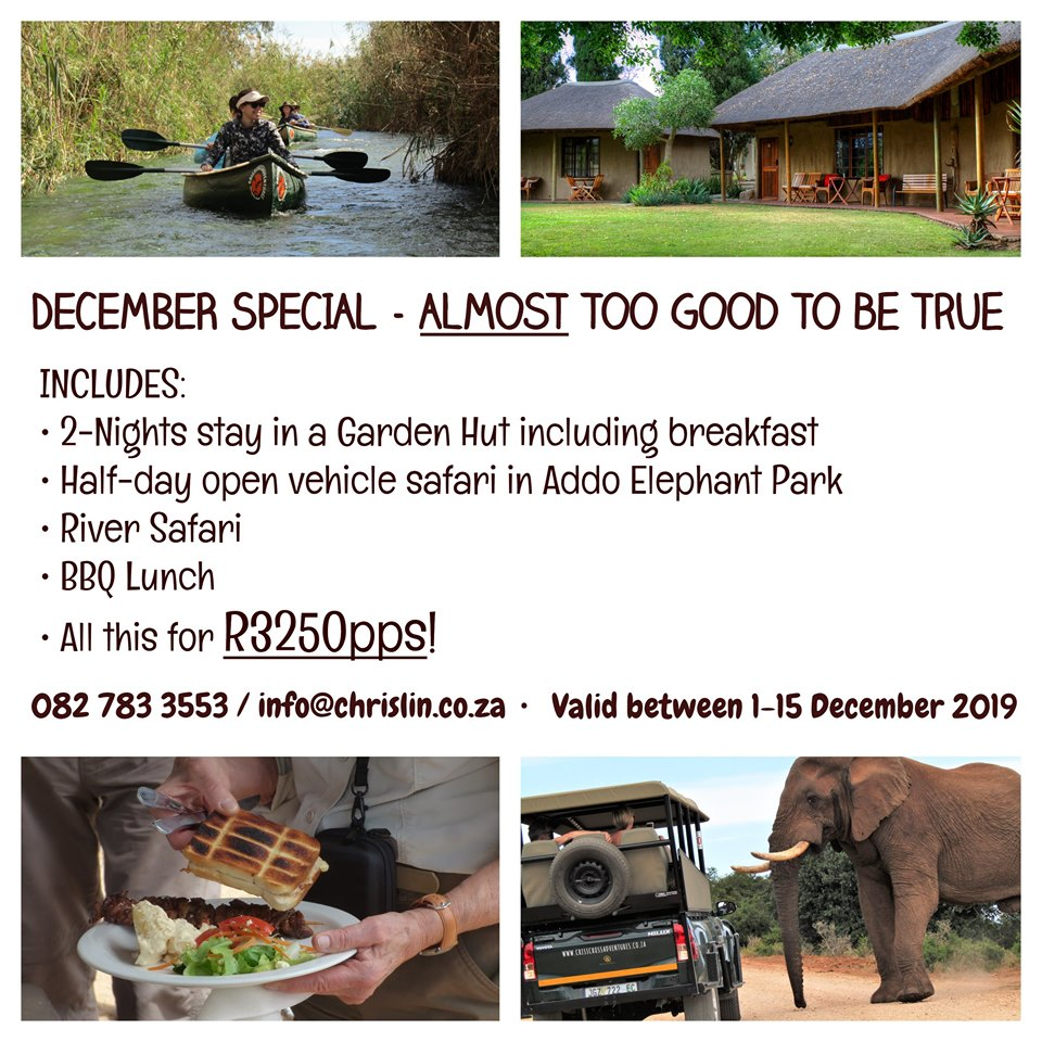 December special Chrislin African Lodge